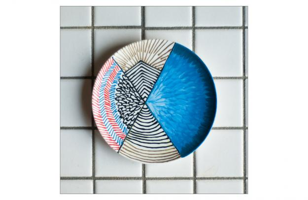 DIY GLASS PAINTING PLATES