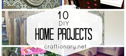 10 DIY Home Projects