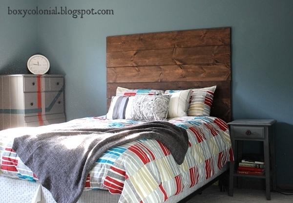 diy wood plank headboard  crafthubs, Headboard designs