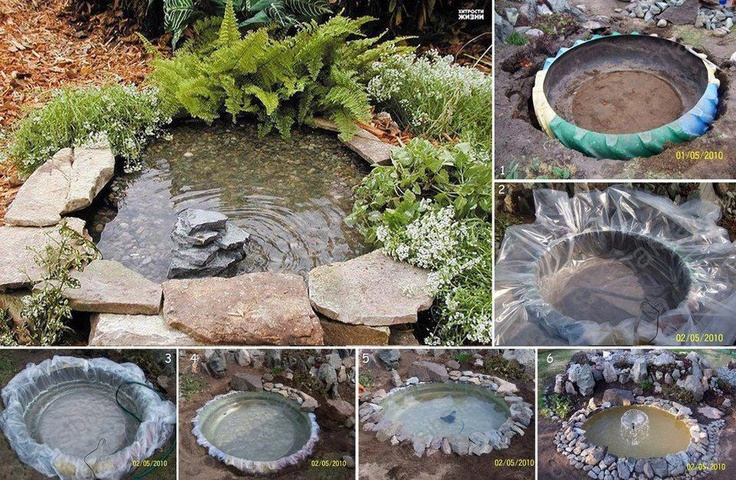 Craftionary for Making a fish pond