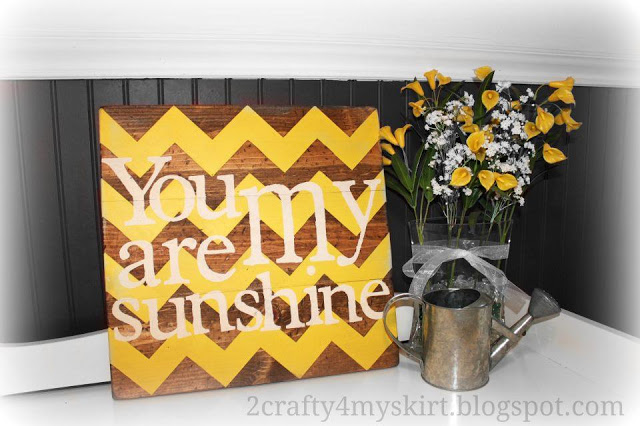 DIY stained painted canvas tutorial