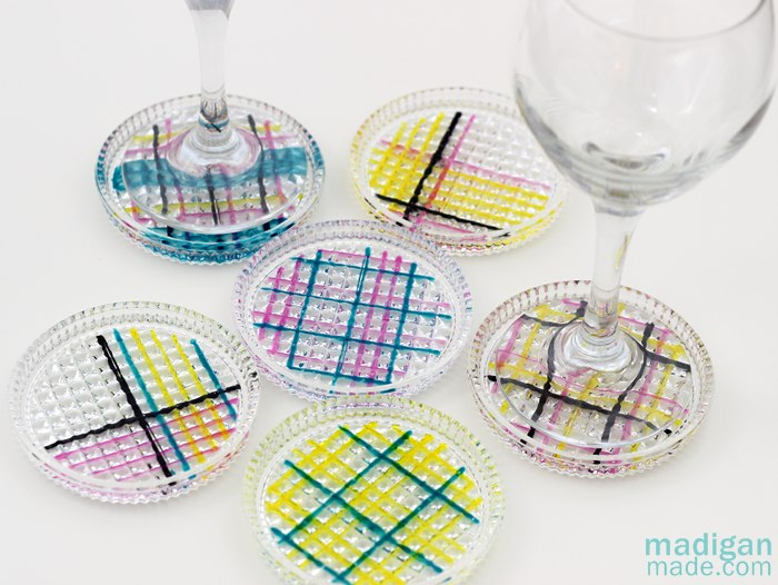 DIY STAINED GLASS COASTERS