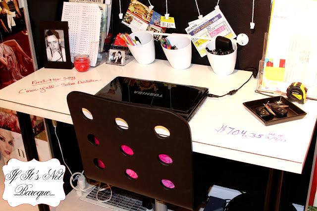 dry erase board desk