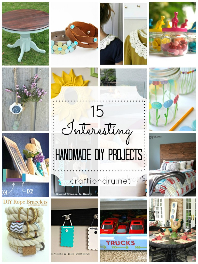 handmade DIY projects