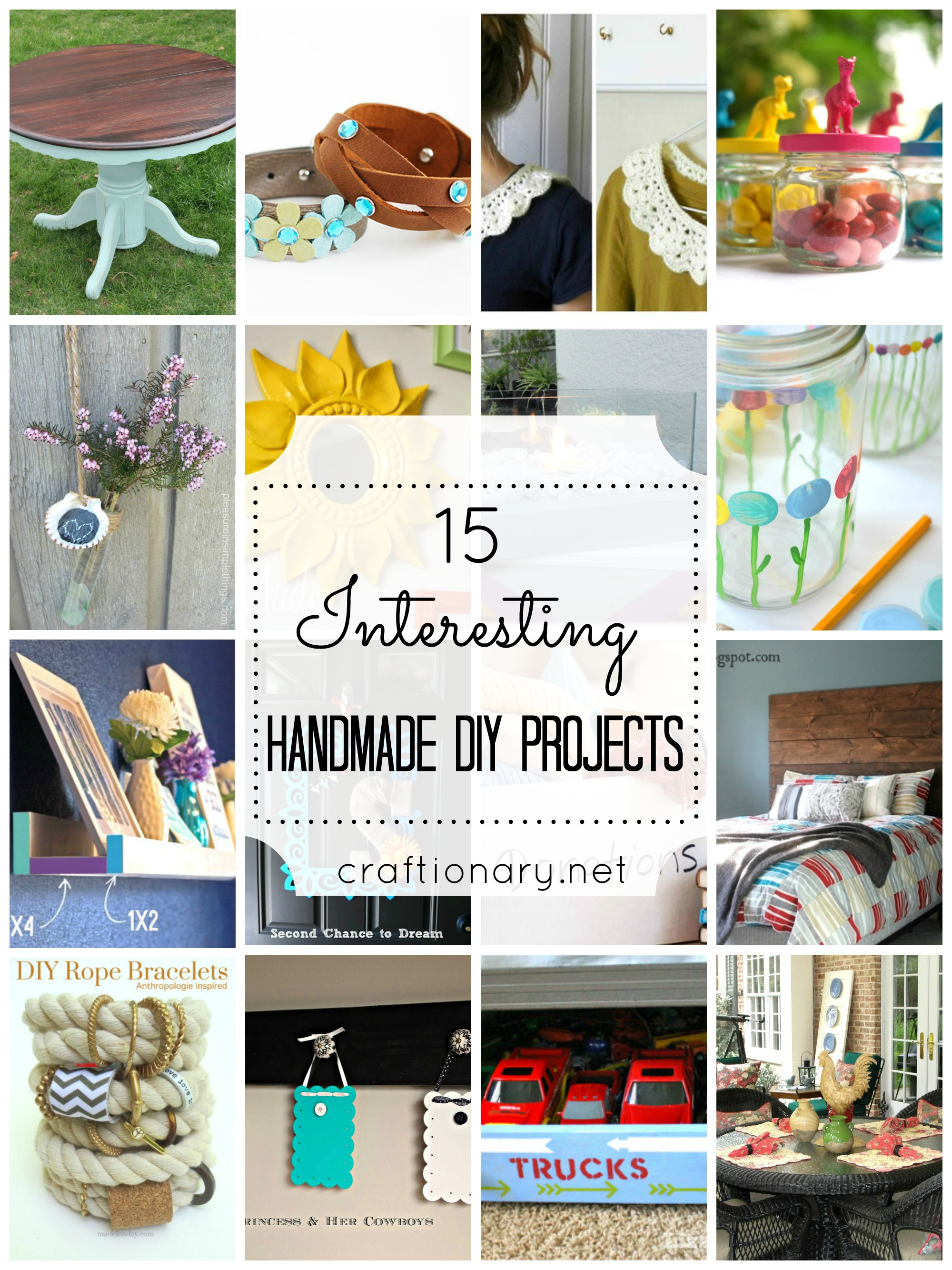15 Interesting Handmade DIY Projects