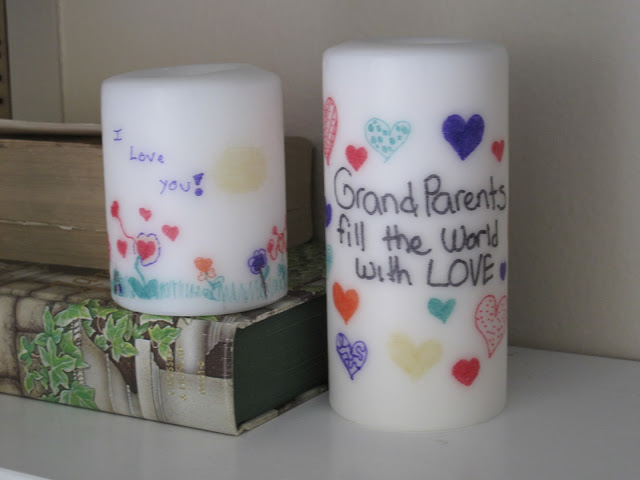 handmade candles gift