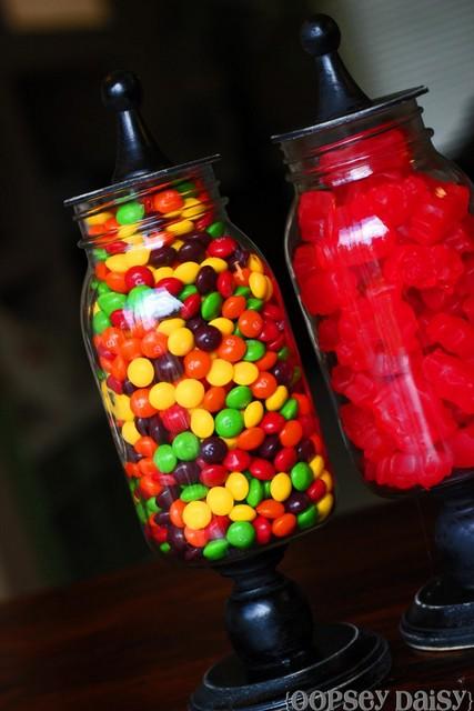 handmade gift jars