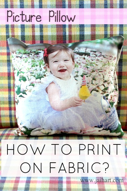 picture pillow gift idea