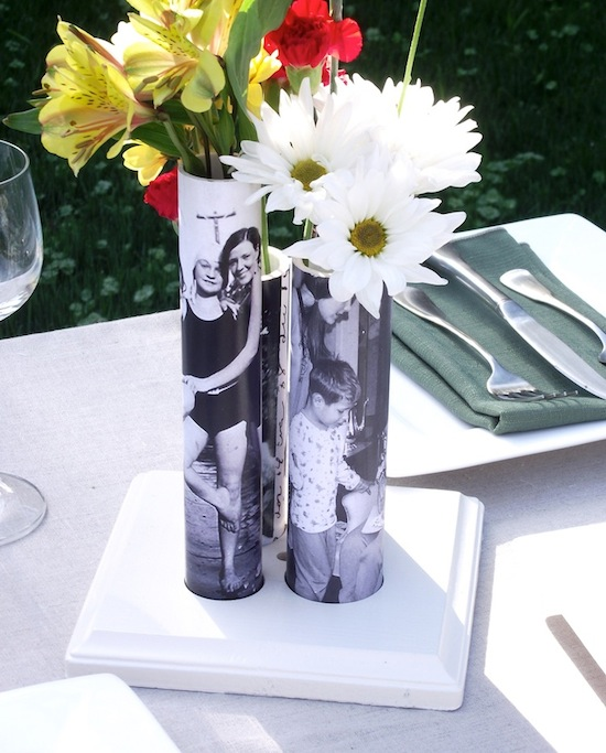 picture vases gift idea