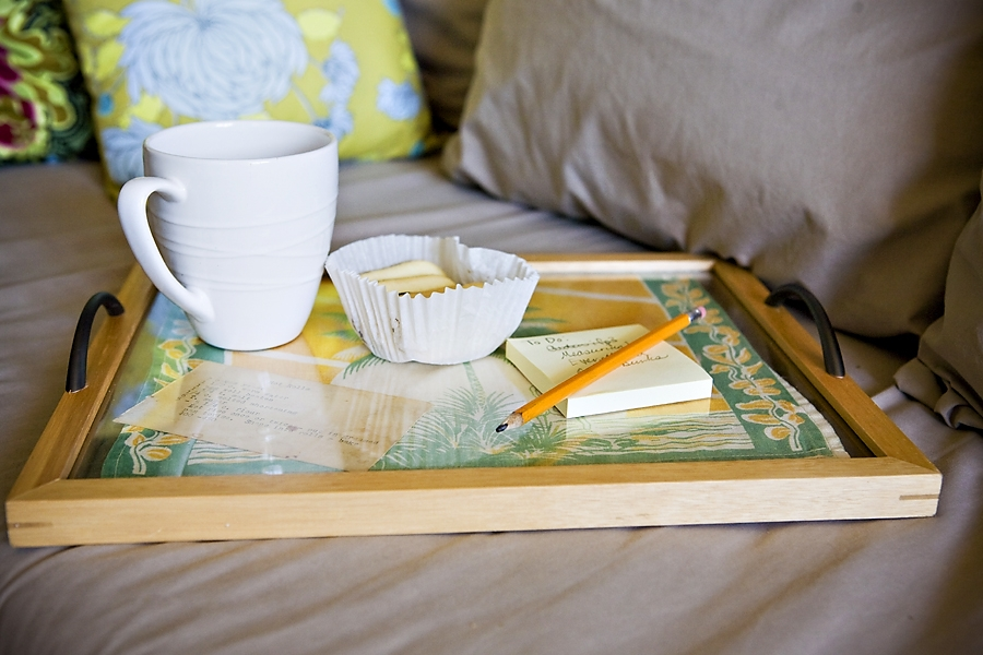 handmade gift tray