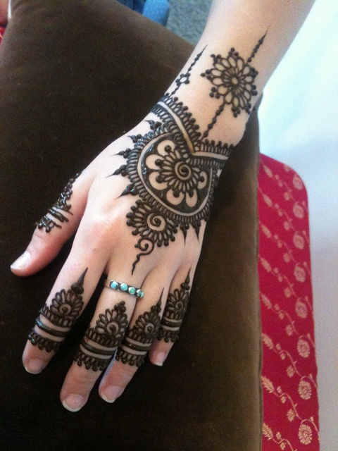 Best easy bridal mehndi designs 2014 mehendi designs for hands car - Lotus Flower Henna Tattoo Designs