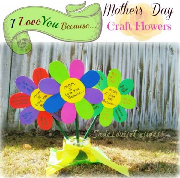 mothers day flowers (i love you)