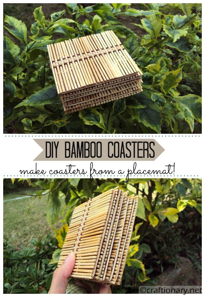 make coasters DIY