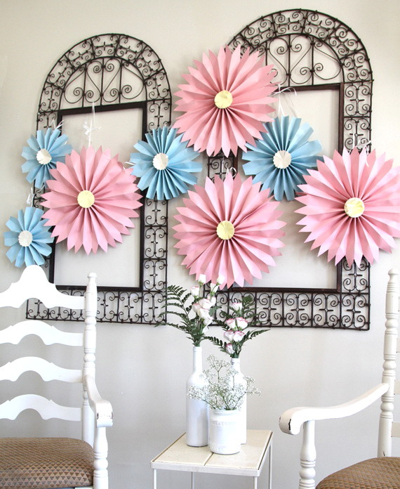 paper pinwheels for mothers day