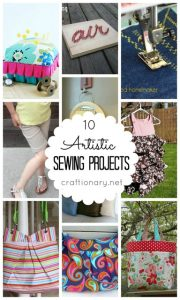 10 Artistic Sewing Projects