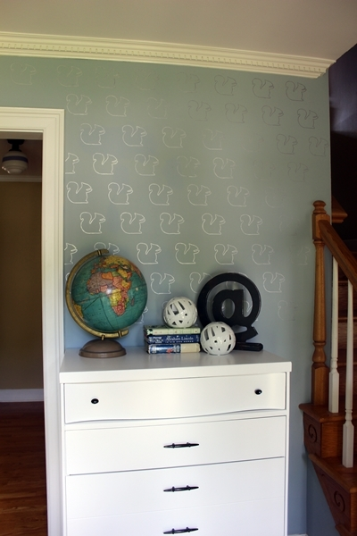sharpie wall art bedroom idea