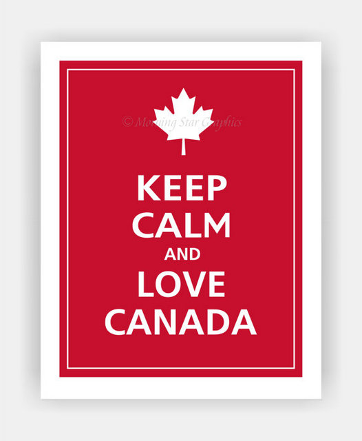canada love printable