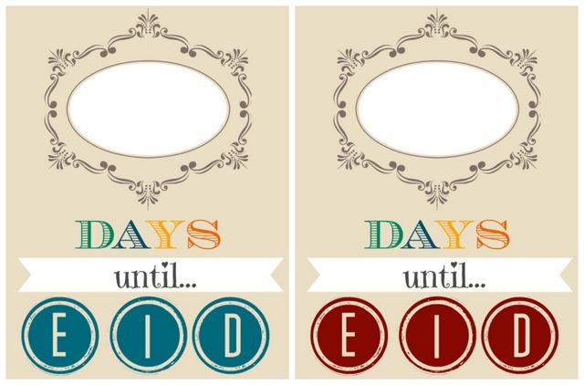 countdown eid ramadan