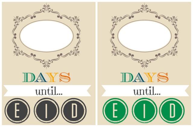 eid ramadan countdown