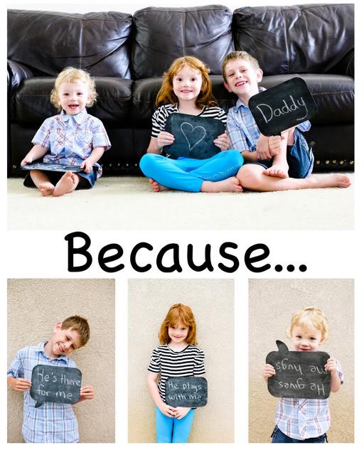 fathers day photo idea