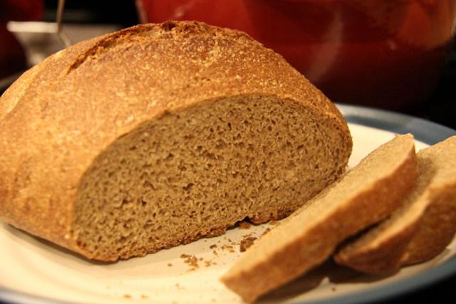 no knead oven bread
