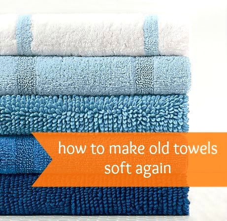 old towels soft again