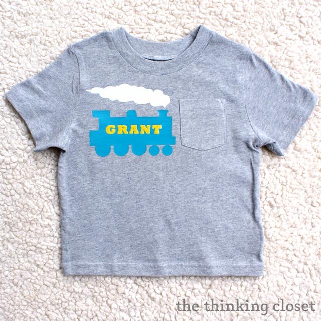 train boy tshirt