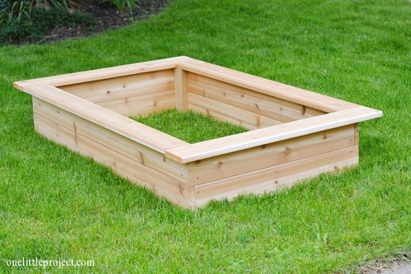 Garden Design Garden Design with How To Build Raised Bed Box For