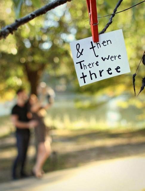 pregnancy announcement fairy tale