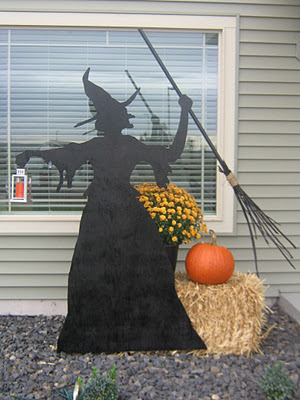 Witch Outdoor Silhouette Tutorial
