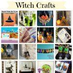 25 Witch Halloween Crafts