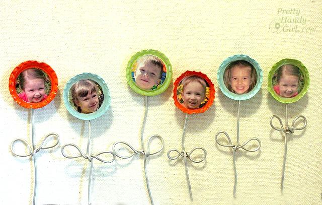 bottle cap picture magnets