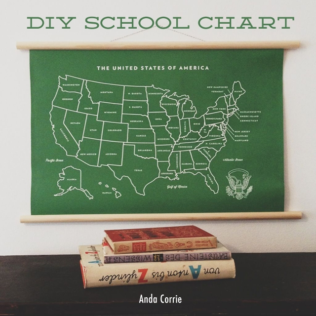 DIY map chart tutorial