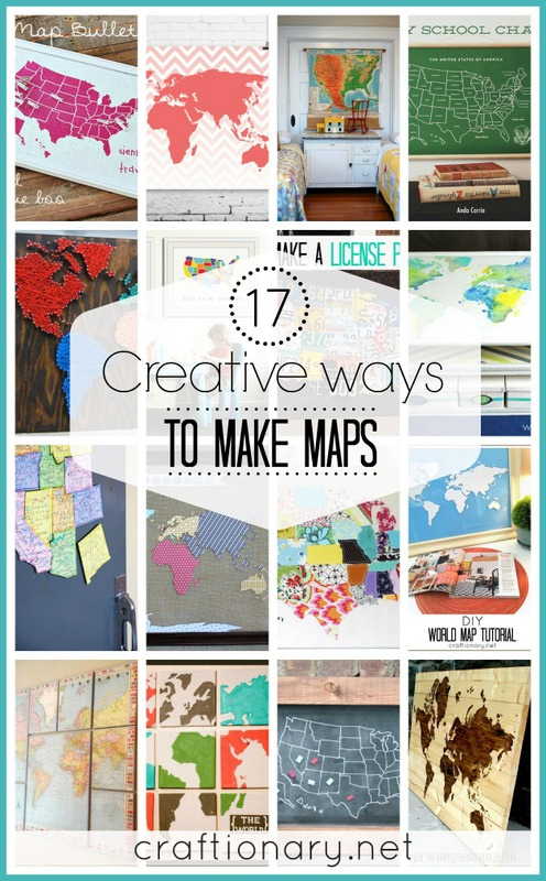 Craftionary diy map tutorials gumiabroncs Images