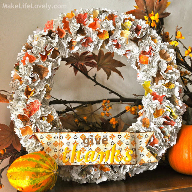 Craftionary for Easy diy thanksgiving crafts