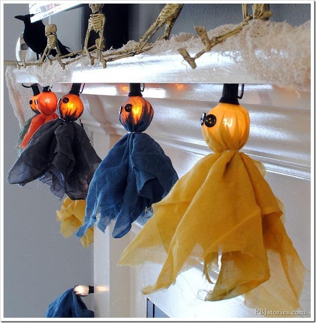 DIY ghost tutorials garland