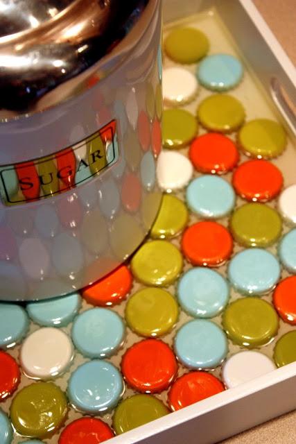 bottle cap tray