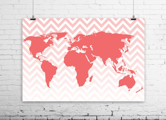 Craftionary modern world map print gumiabroncs Images
