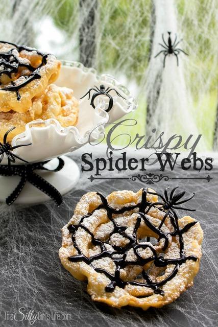 crispy spider webs
