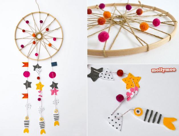 fall dream catcher tutorial