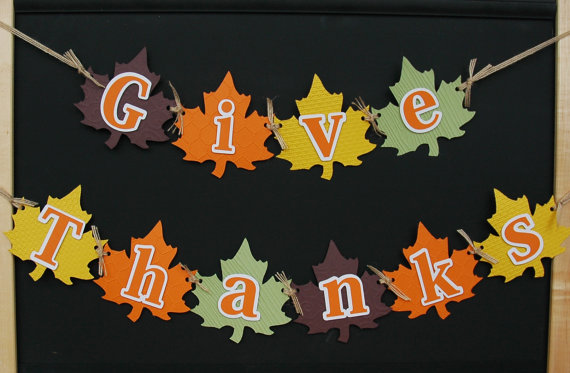Ambitious image throughout give thanks banner printable