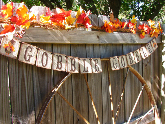 gobble gobble garland tutorial