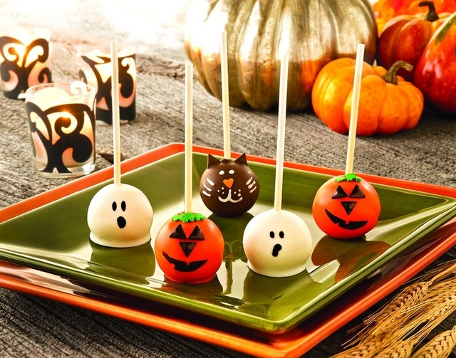 Cake Pop Decorating Ideas For Halloween Halloween Cake Pops