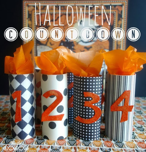recycle Halloween countdown