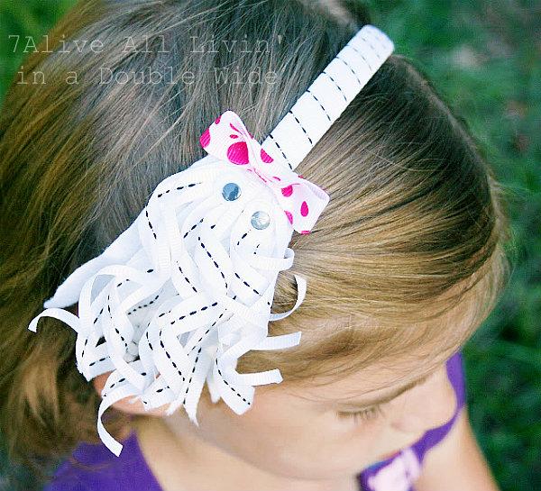 Halloween ghost headband