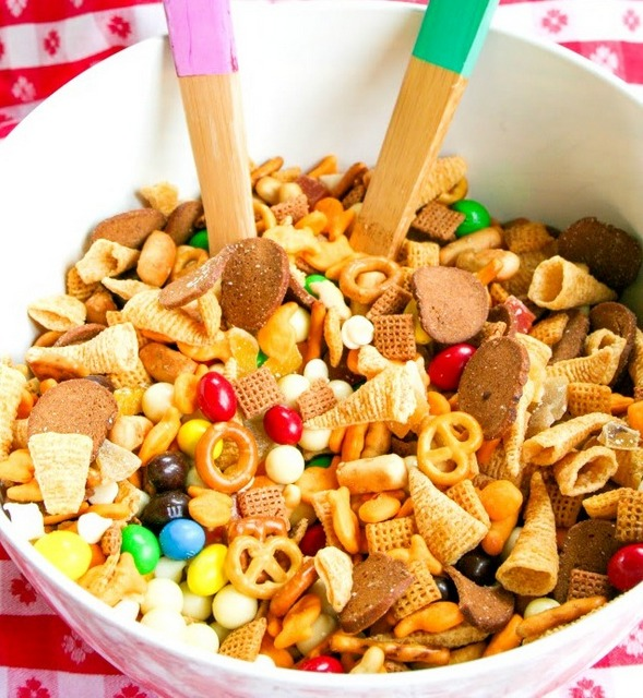 11 road trip trail mix a colorful trail mix for