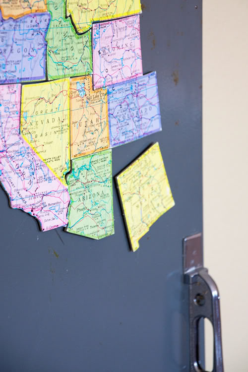 Kids Magnetic Map Puzzle