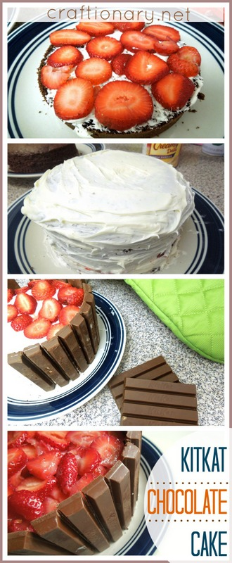 kitkat chocolate cake recipe