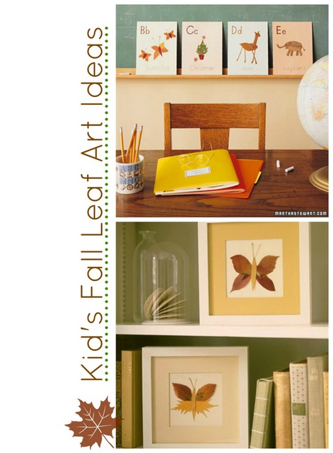 Fall leaf art ideas