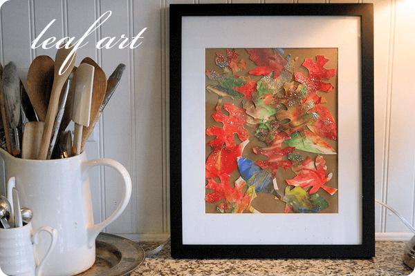 leaf art tutorial